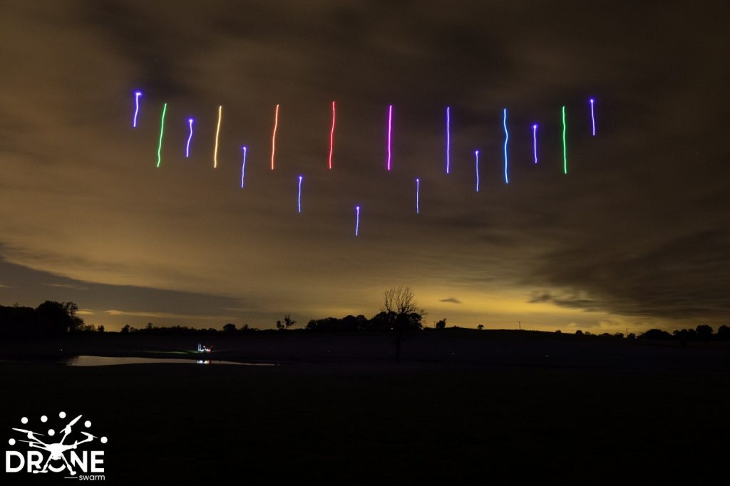 Drone Light Rainbow
