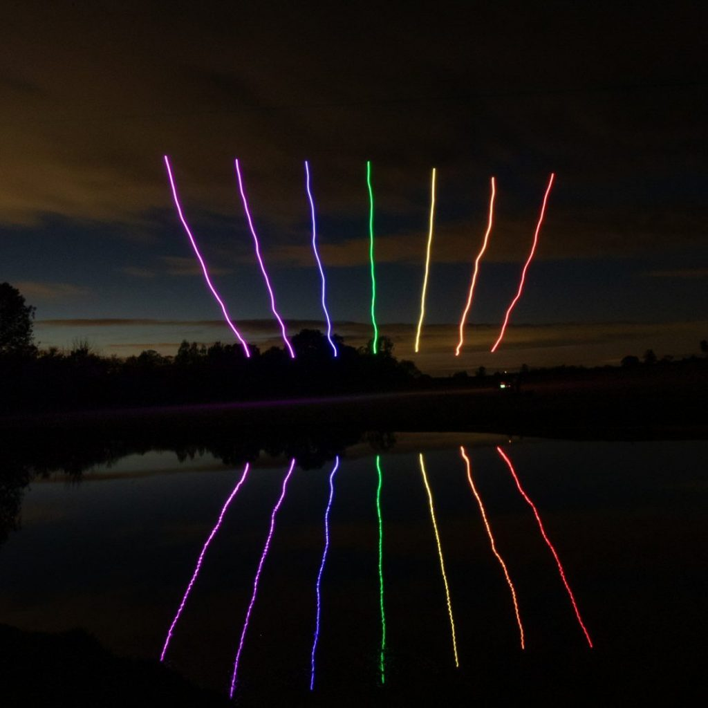 Rainbow Drones