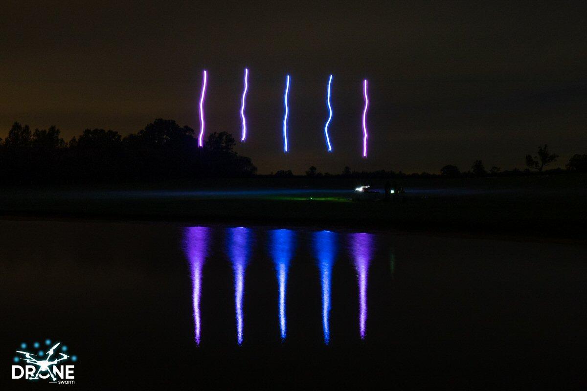 Drone light show