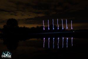 light sky drones