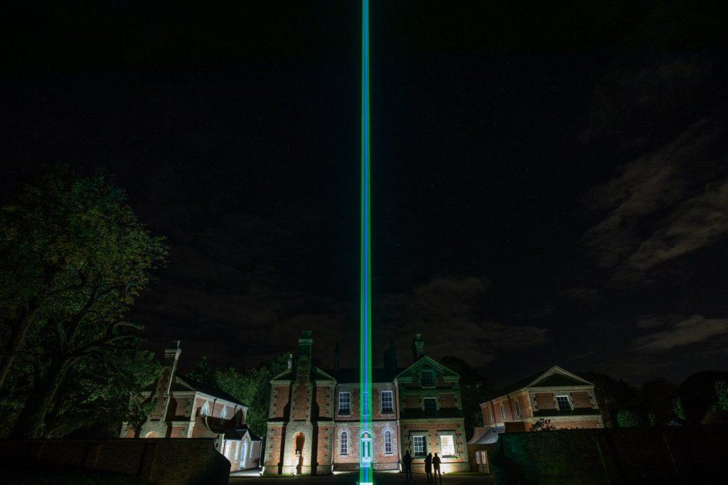 Laser display