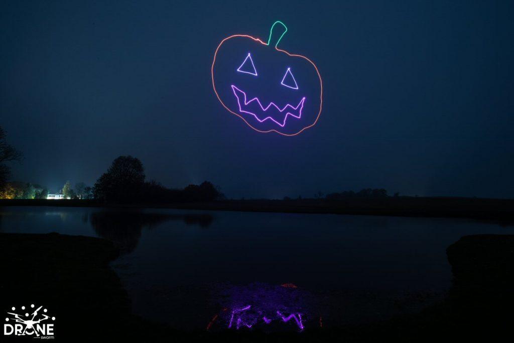 Pumpkin Halloween Light Painting