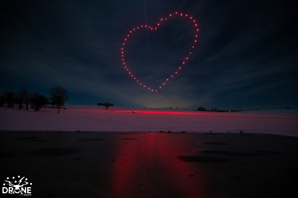 Drone Show Heart